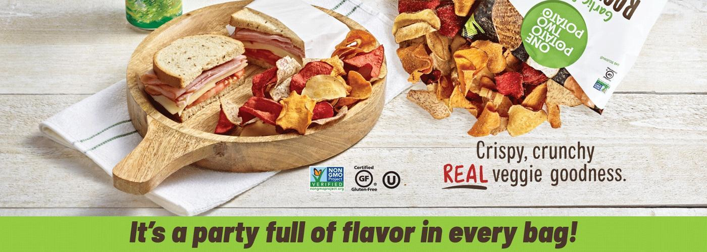 It's a party full of flavor in every bag!