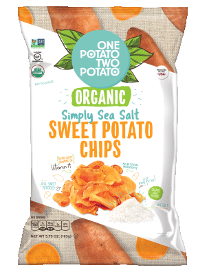 Organic Sea Salt Sweet Potato Chips